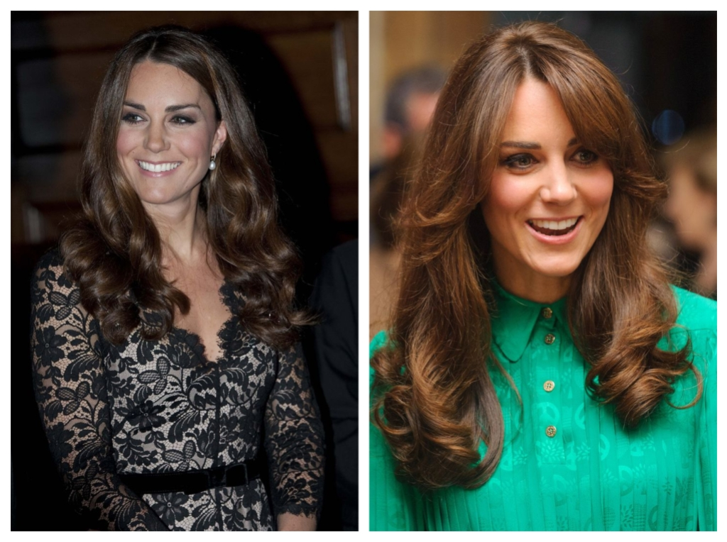 Kate Middleton Pregnancy Hair