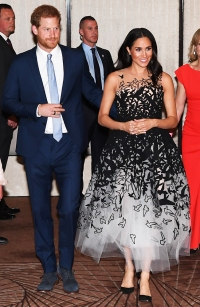 Meghan Markle Dress Birds
