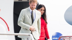 :rince Harry and Meghan Markle candid