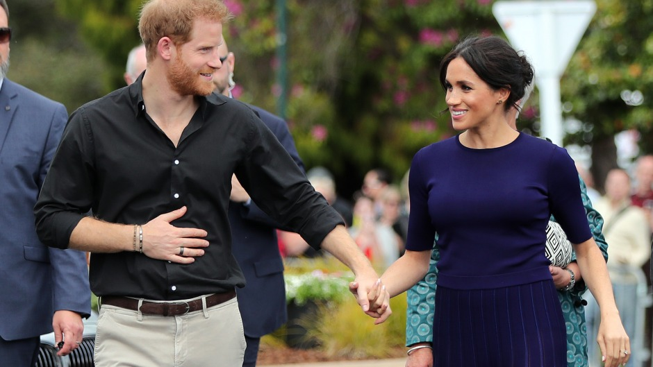 Prince Harry and Meghan Markle in New Zealand