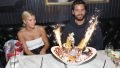 Scott Disick and Sofia Richie at Sugar Factory