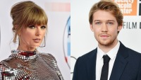 Side by side photos of Taylor Swift and Joe Alwyn