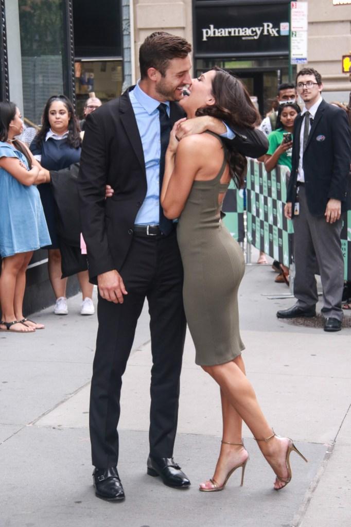Becca and Garrett showing PDA in NYC