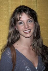 Britney Spears attending Jingle Ball in December 1998