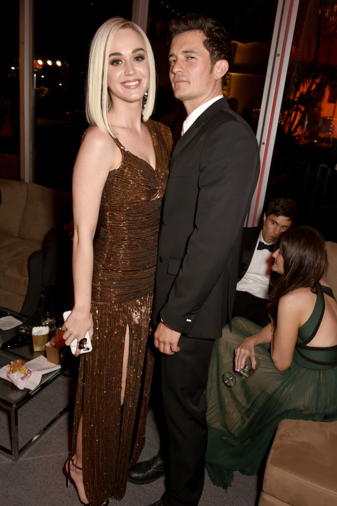 Katy and Orlando at an event together