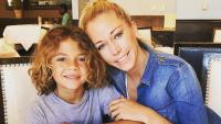 Kendra Wilkinson And Her Son With Hank Baskett