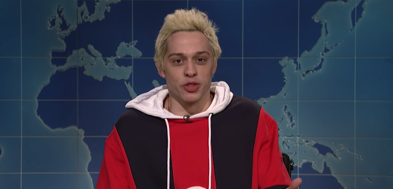 pete davidson gets trolled about ariana split on snl