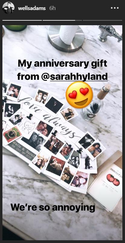 sarah hyland gift
