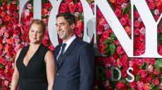 Amy Schumer and Chris Fischer at an event together