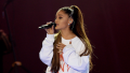 Ariana Grande, Singing, Manchester Bombing Tribute, White Sweatshirt