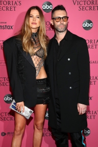 Behati and Adam Levine at the after party