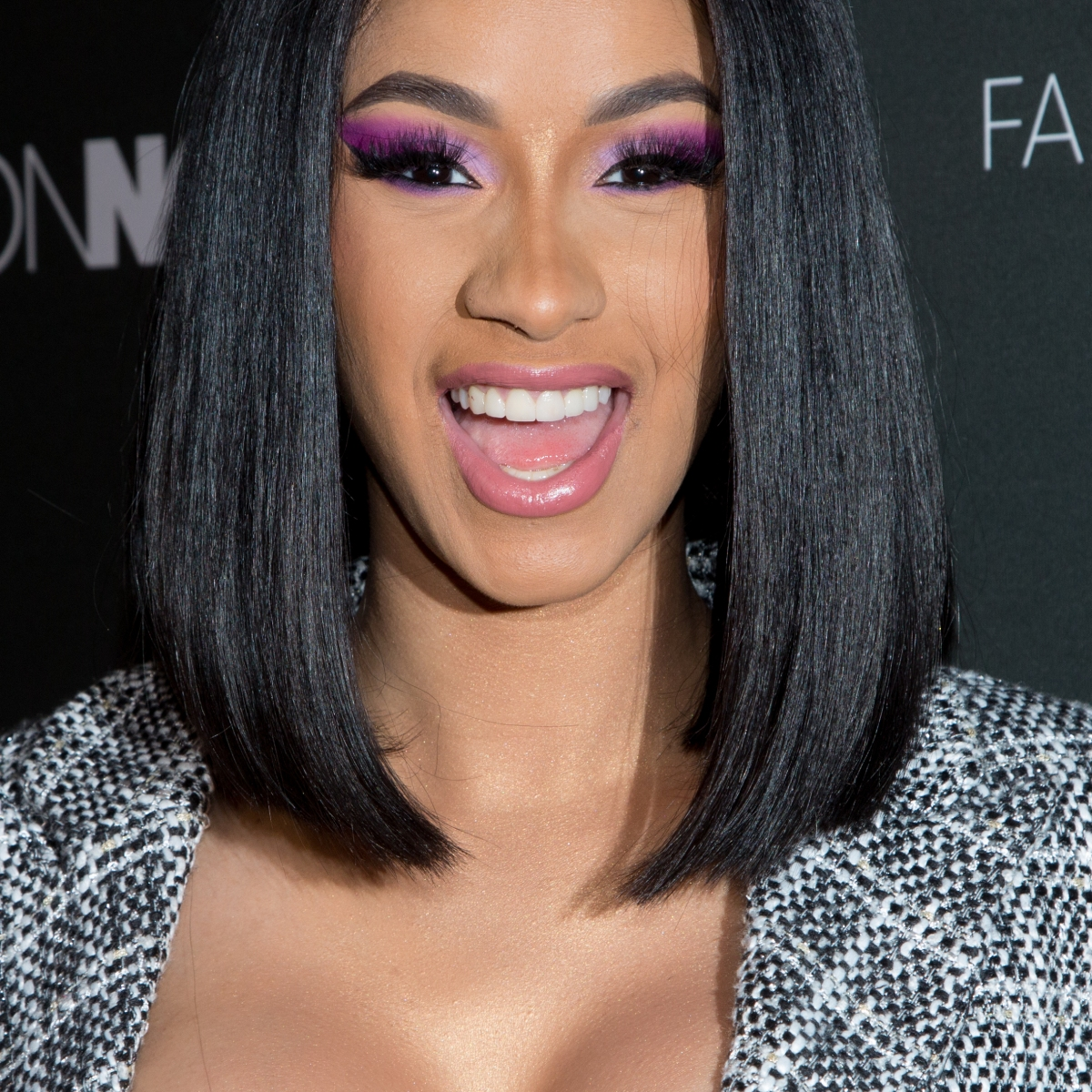 Cardi B S Fashion Nova Launch Party Outfit Is All Sorts Of Amazing