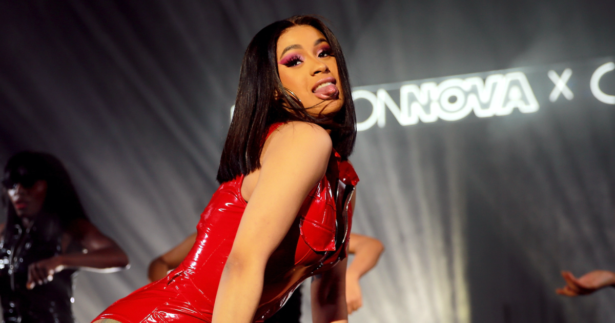 Cardi B Nothing On: Cardi B's Post-Baby Body Looks Amazing In Nothing But A Thong