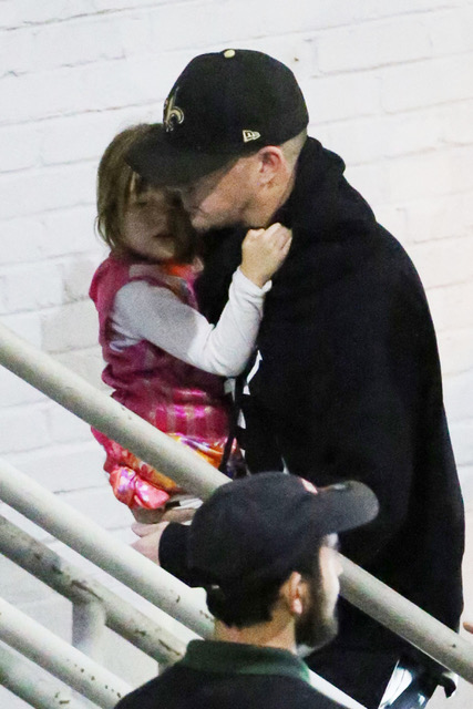Channing Tatum takes his daughter Everly to Jessie J in concert