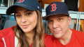 Dane Cook and girlfriend posing for a selfie