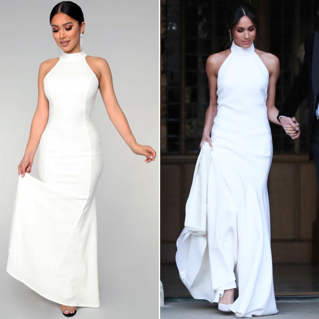 Fashion Nova Recreated Meghan Markle S Reception Dress For Fans