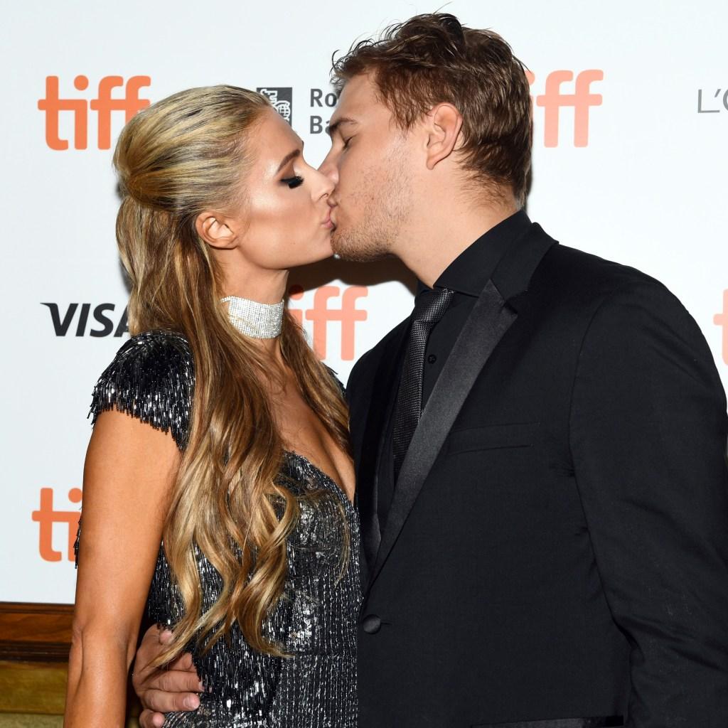 Paris Hilton Chris Zylka jealousy
