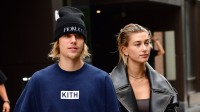 Justin Bieber with Hailey Baldwin in NYC