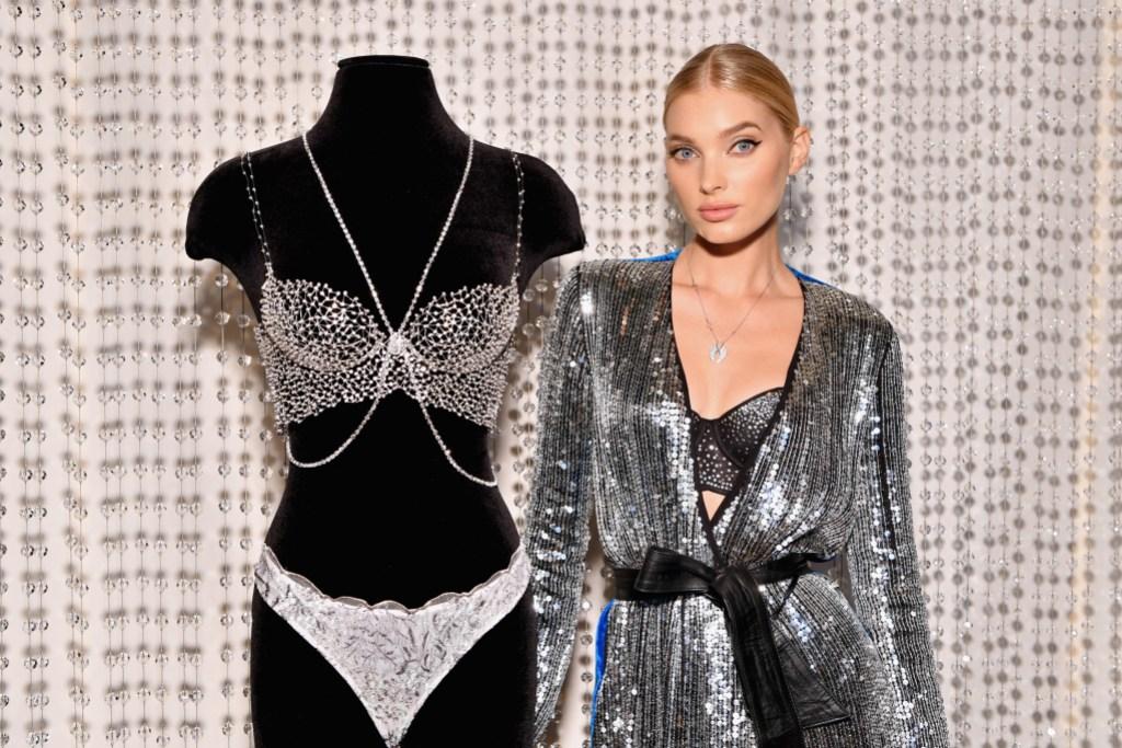 Victoria's Secret Angel Elsa Hosk Wears The 2018 Dream Angels Fantasy Bra