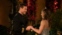 Peter Weber and Hannah Brown on Bachelorette