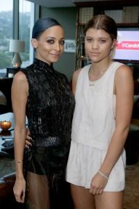 Sofia Richie and Sister Nicole Richie