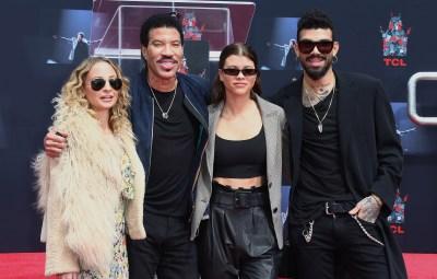 Nicole, Lionel, Sofia, And Miles Richie