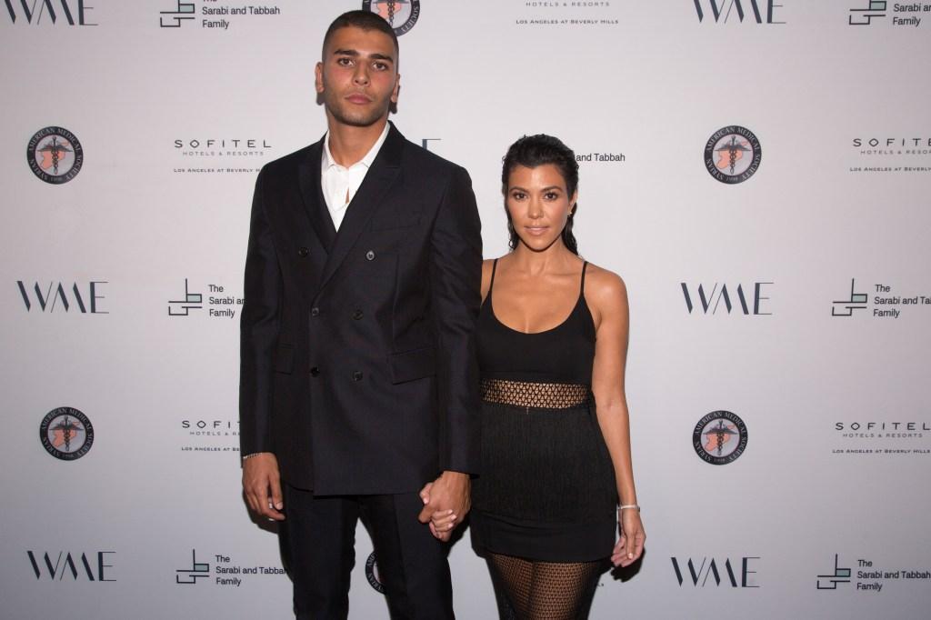 Kourtney Kardashian says Younes Bendjima most productive thinks of himself