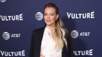 Hilary Duff at an event