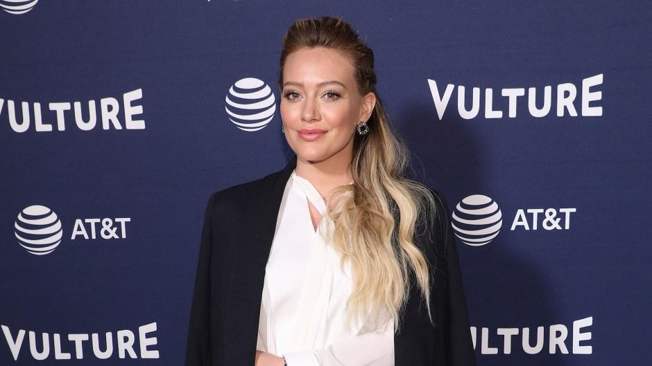 Hilary Duff at an event