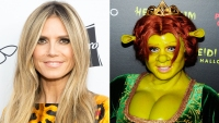 Heidi Klum Fiona Shrek
