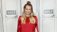 Hilary Duff at an event in NYC