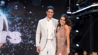 Joe Amabile and Jenna Johnson on DWTS