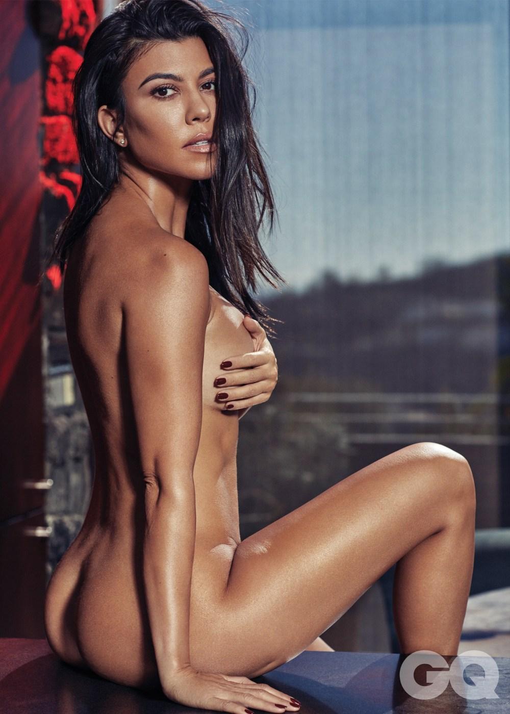 Kourtney Kardashian Shows Off Her Bare Booty in Sexy Photo