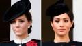 Kate Middleton, Meghan Markle, Split Image
