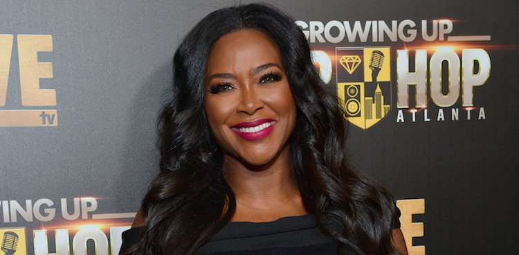 Kenya Moore Reportedly Got A Baby Gift From The IRS … A Tax Lien!