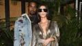 Kim Kardashian Kanye West private 747 jet