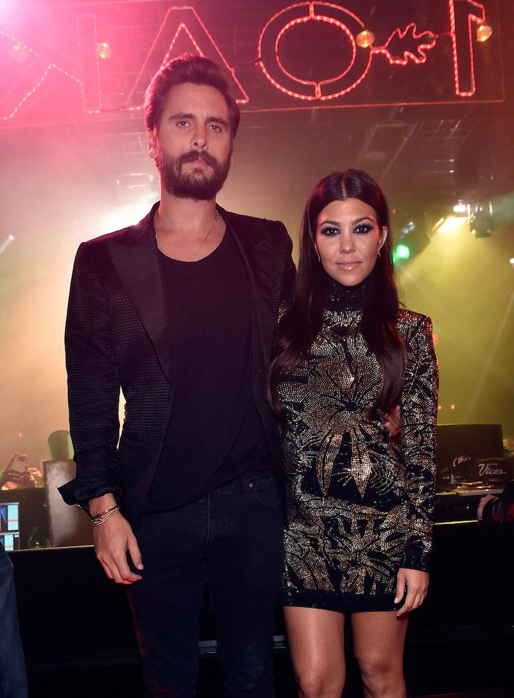Kourtney Kardashian Scott Disick relationship