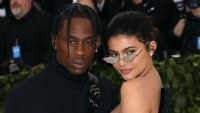 Kylie Jenner and Travis Scott at the Met Gala