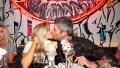 Lauren Burnham and Arie Luyendyk Jr at Black Tap at The Venetian Resort Las Vegas