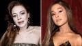 Lindsay-Lohan-Ariana-Grande