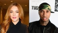 Lindsay Lohan Is Out Here Flirting With Tyga, And Fans Are Actually Kinda Here For It: 'Go Get Him, Girl'