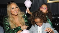 Mariah Carey with Roc and Roe
