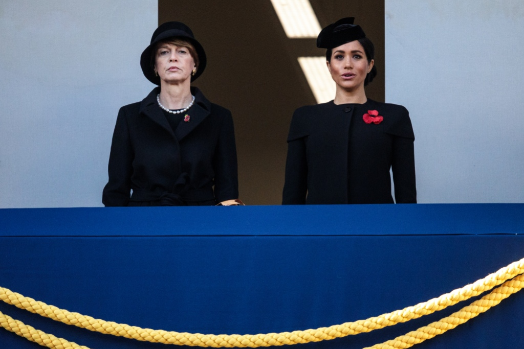 Meghan Markle with Germany's first lady