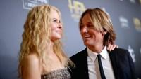 Nicole Kidman and Keith Urban posing