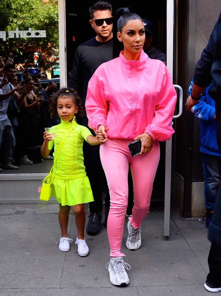 Issa Vibe! North West Dances at Sunday Church Service While Rocking a Super Stylish 'Fit