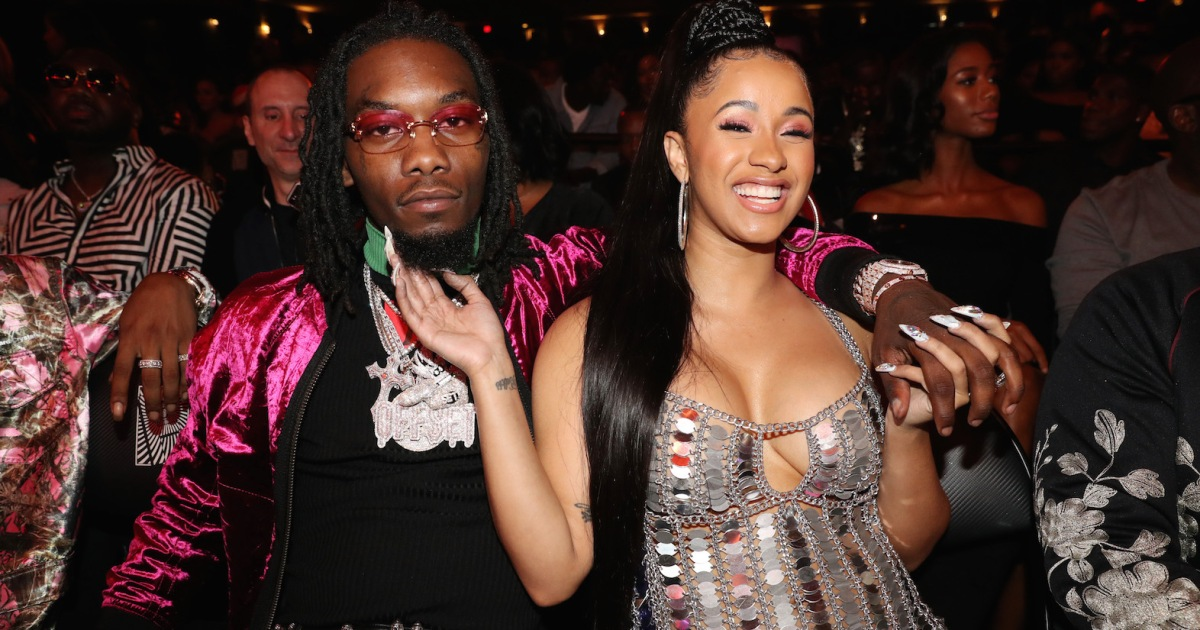 Cardi B Says Offset Picked Their Baby S Almost Tricky: Offset Encourages Cardi B To Take A Break From Ranting On