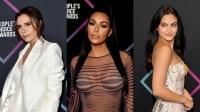Victoria Beckham, Kim Kardashian, Camila Mendes