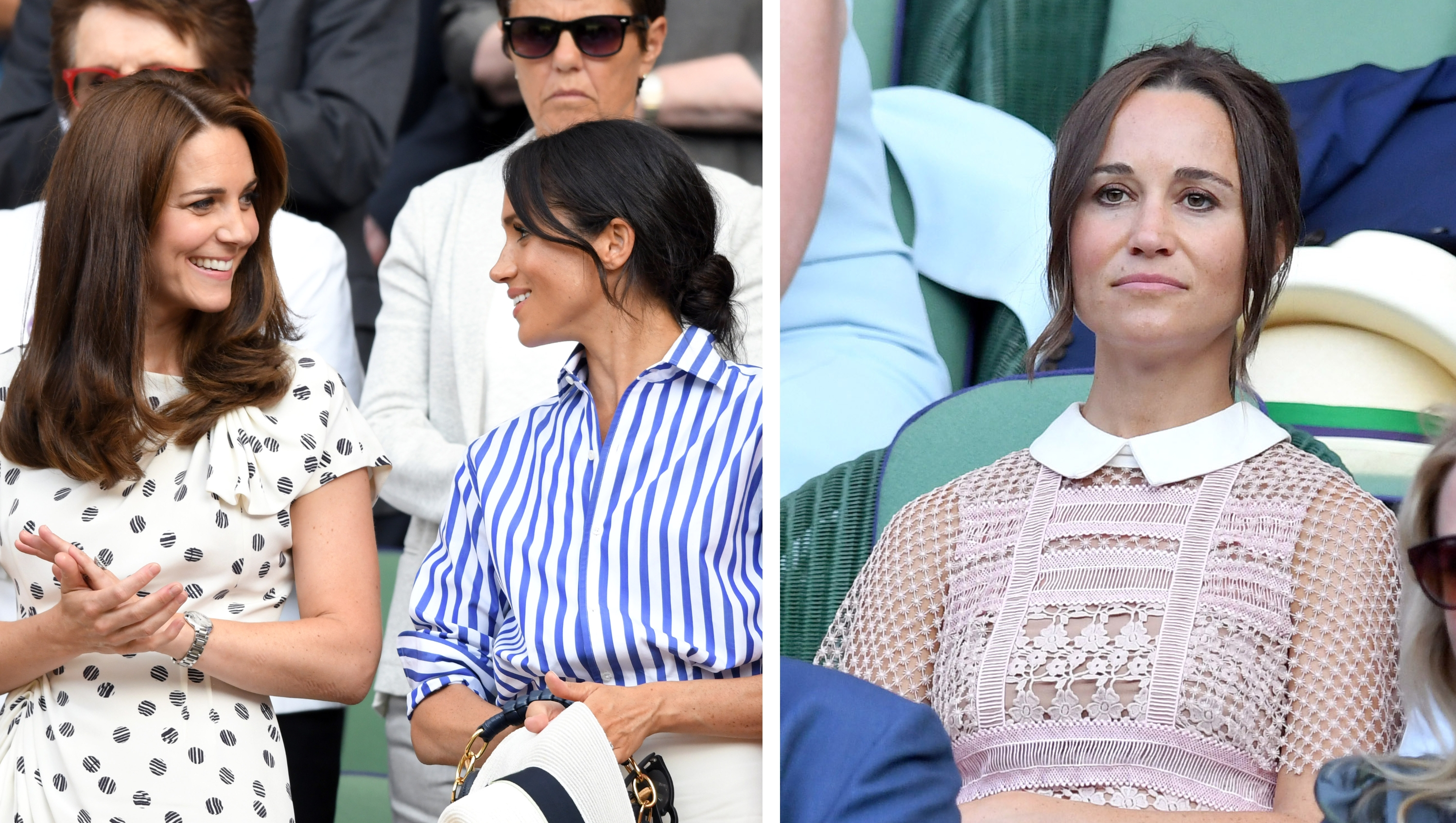 Kate Middleton, Meghan Markle, Tennis Match, Split, Pippa Middleton, Frowning