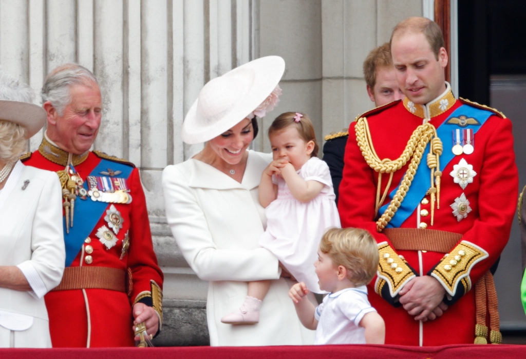 Prince Charles and his family