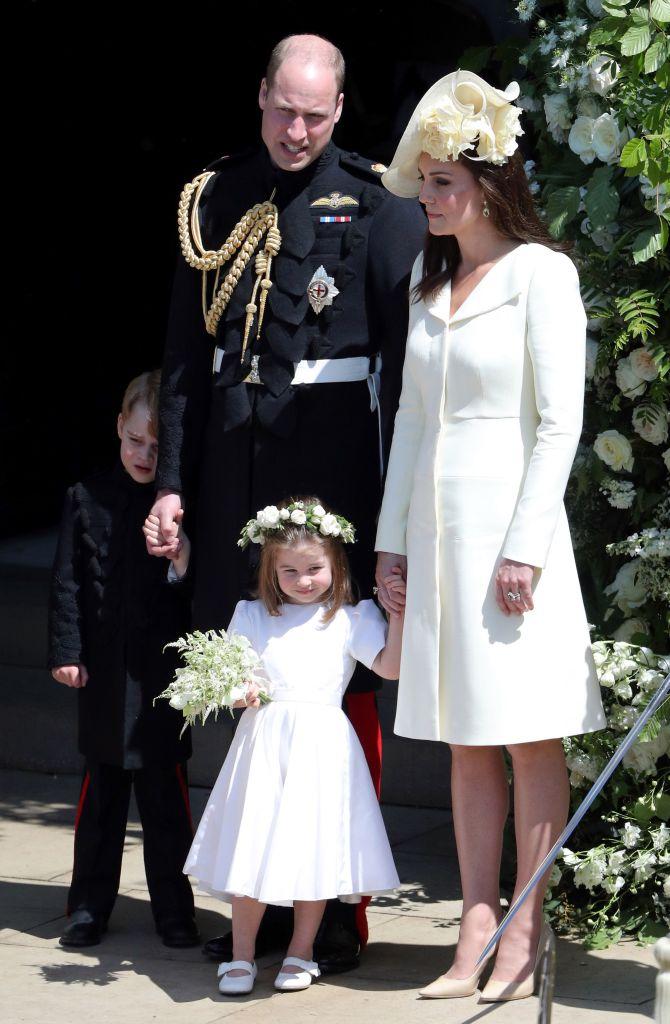 Royal family at the royal wedding
